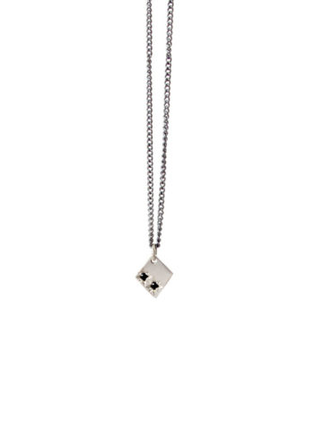 Astral Necklace II in sterling silver by Anastasia Mannix