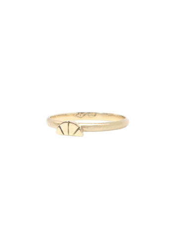 yellow gold citrus ring