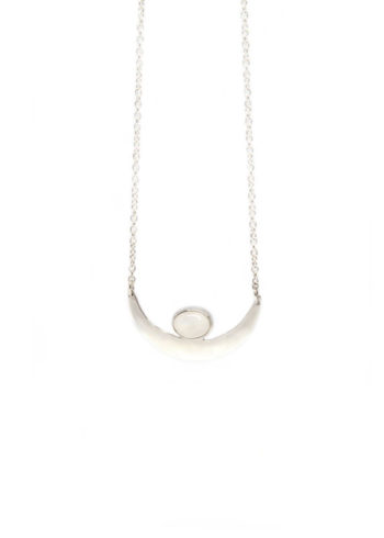 Crescent Moon Necklace I
