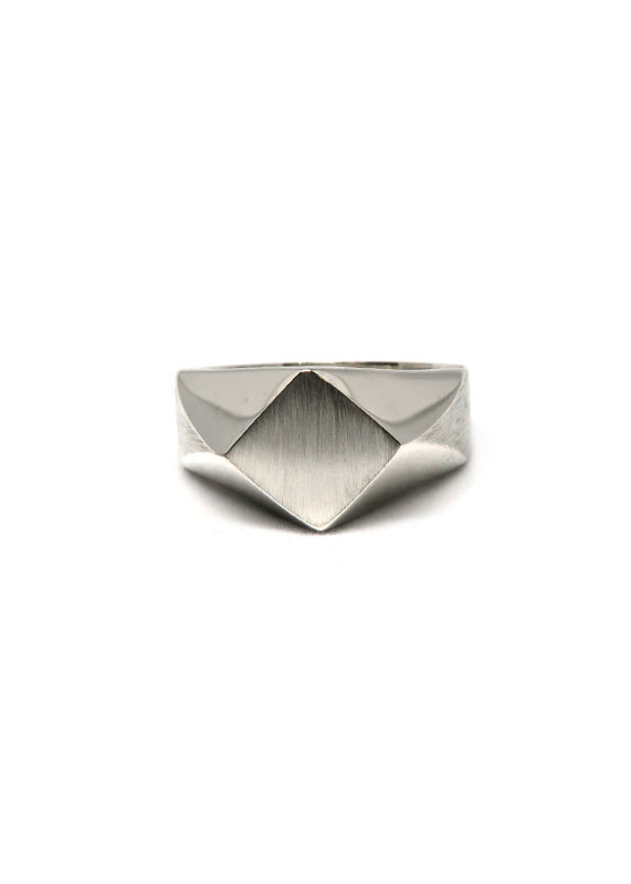 Polygon Signet Ring
