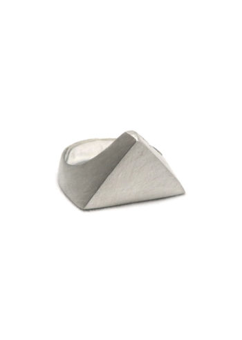 Triangle Signet Ring