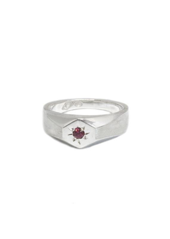 Anastasia Mannix, signet ring, jewellery, handmade jewellery, signet rings, silver jewellery, geometric jewellery, australian made, handmade, silver