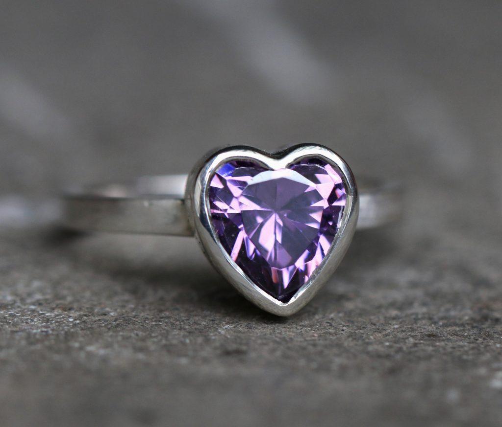 Claudia Octavia's Ring, silver, ring, heart, heart ring